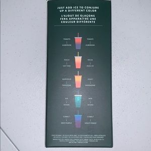 Summer 2020 Starbucks Color Changing Cups - 5 pack